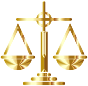 Gold Scales Of Justice Icon