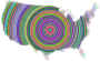 Prismatic United States Concentric Circles