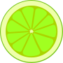 Simple lime section