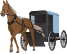 Amish Buggy and Horse Thumbnail
