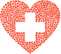 First Aid Heart Icons