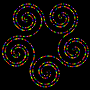 Pentaskelion of Beads