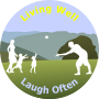 Living Well Laugh Often Logo 3