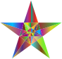 Prismatic Geometric Star