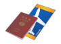 Japanese Passport and Ticket