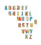 African ethnic abstract alphabet Thumbnail