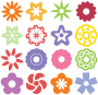 Flower Icons Thumbnail