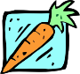 Food and drink icon - carrot