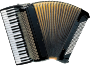 Piano accordion (vectorized)