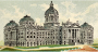 Cigarette Card - Capitol Building of Indiana Thumbnail