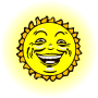 Sun face 2 (colour)