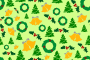 Christmas pattern (colour)