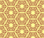 Hexagonal pattern (colour)