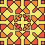 Square ornament 37 (colour)