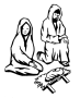 Nativity B&W Remix