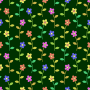 Floral pattern 8 (colour 2)
