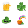 St. Patrick's Day Icon Set Collection