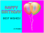 B-Day Card (by kaddie)