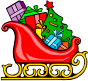 sleigh with presents Thumbnail