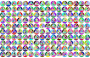 Prismatic Manuela's Triangle Background No Stroke Thumbnail