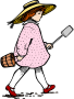 Girl Pail Shovel
