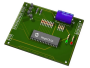 Printed circuit board with microprozessor chip