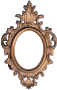 Ornate frame 48