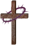 Cross With Crown Of Thorns Thumbnail