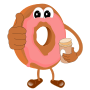 Coffee and Donut. Yeah! : Animation