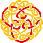 Celtic knot 3 (colour)