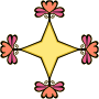 Floral star