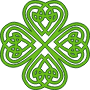 Celtic four leaved clover Thumbnail