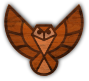 Wood texture owl (no background) Thumbnail