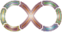 Infinity Segmented Arrows Stylish