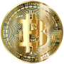 Gold Bitcoin Coin Thumbnail