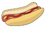 Hotdog with Ketchup