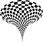 3D Checkerboard Vortex