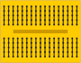 yellow breadboard with internal connections