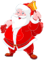 Santa With A Bell Thumbnail