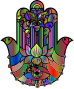 Hand Of Fatima Polyprismatic Thumbnail