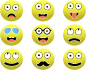 Smileys Set By Conmongt Thumbnail