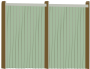 Wood Fence Facing