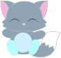 Cute Kitten Illustration Thumbnail
