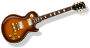 LP Guitar with flametopfinish />