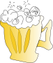 Cool Foamy Beer />