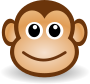 funny monkey face />