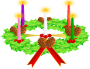 Advent wreath. Advent crown Thumbnail